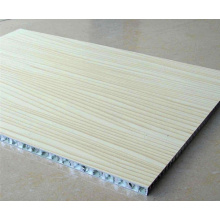 Wood Look Aluminum Honeycomb Panels for Table Top